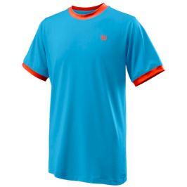 Dětské tričko Wilson Competition Crew B Blue
