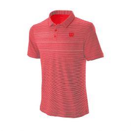 Pánské tričko Wilson Training Polo Red