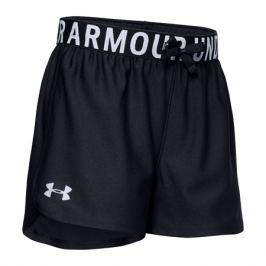 Dívčí šortky Under Armour Play Up Solid černé