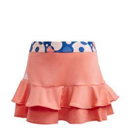 Dívčí sukně adidas G Frill Skirt Light Orange