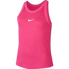 Dívčí tílko Nike Court Dri-Fit Vivid Pink