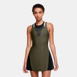 Dámské šaty Nike Court Maria Olive