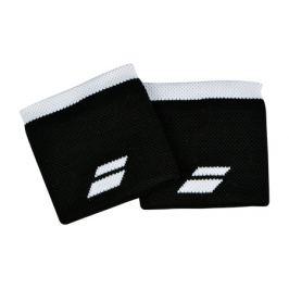 Potítka Babolat Logo Wristband Black/White (2 ks)