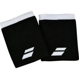 Potítka Babolat Logo Jumbo Wristband Black/White (2 ks)