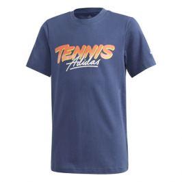 Dětské tričko adidas Kids Tennis Graphic Tee Navy