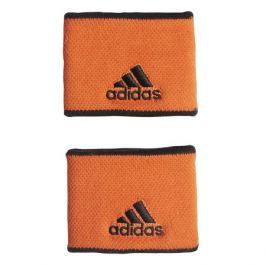Potítka adidas Tennis Wristband Small Orange (2 ks)