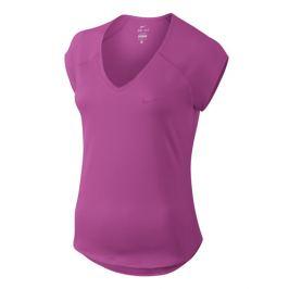 Dámské tričko Nike Court Pure Tennis Top Fuchsia