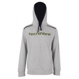 Dětská mikina Tecnifibre Fleece Hoodie Grey