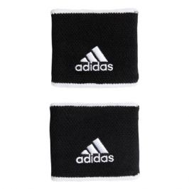 Potítka adidas Tennis Wristband Small Black 2 ks