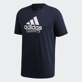 Pánské tričko adidas Tenis Logo Navy