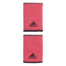 Potítka adidas Tennis Wristband Large Pink 2 ks