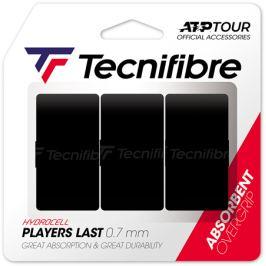 Vrchní omotávka Tecnifibre Players Last Black (3 ks)