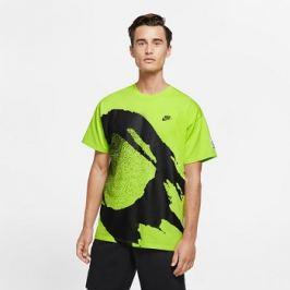 Pánské tričko Nike Court Challenger Fireball Green