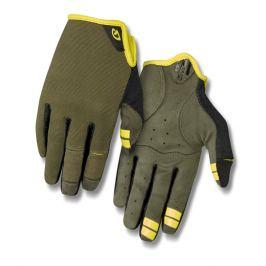 Dlouhoprsté cyklistické rukavice GIRO DND zelené