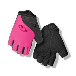 Dámské cyklistické rukavice GIRO Jag'ette růžové