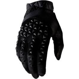 Cyklistické rukavice 100% Geomatic černé