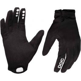 Dlouhoprsté cyklistické rukavice POC Resistance Enduro Adjustable černé