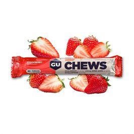 Energetické bonbóny GU Chews 54 g Strawberry