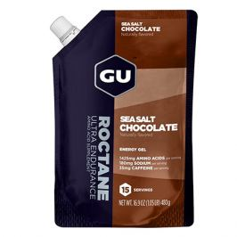GU Energetický gel GU Roctane Energy 480 g Sea Salt/Choco