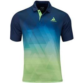 Pánské tričko Joola Shirt Trinity Navy/Green