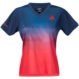 Dámské tričko Joola Lady Shirt Trinity Navy/Red