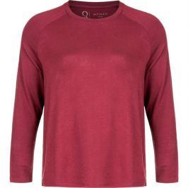 Dámské tričko Endurance Q Cihera LS Tee vínové