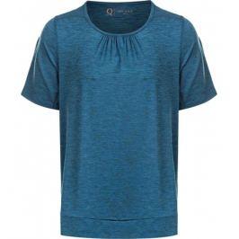 Dámské tričko Endurance Q Bree Melange SS Tee modré