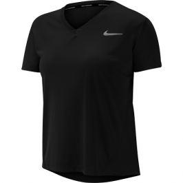 Dámské tričko Nike Miler Top Vneck černé