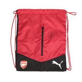 Vak Puma Performance Arsenal FC červeno-černý s originálním podpisem Petra Čecha