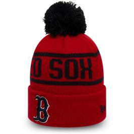 Zimní čepice New Era Bobble Knit MLB Boston Red Sox