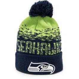 Zimní čepice New Era Sport Knit NFL Seattle Seahawks