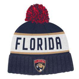 Zimní čepice adidas Culture Cuffed Knit Pom NHL Florida Panthers