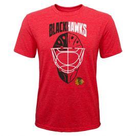 Dětské tričko Outerstuff Mask NHL Chicago Blackhawks