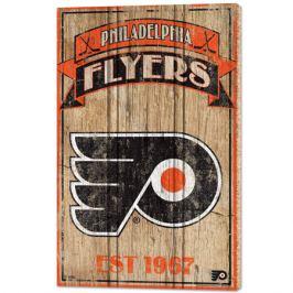 Nástěnná deska WinCraft Established NHL Philadelphia Flyers