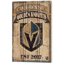Nástěnná deska WinCraft Established NHL Vegas Golden Knights