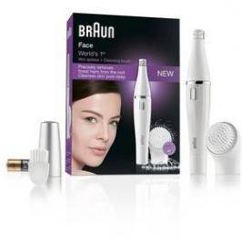 Braun Face 810 bílý
