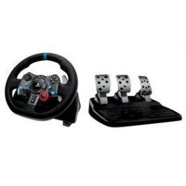 Logitech G29 Driving Force pro PS3, PS4, PC + pedály (941-000112) černý