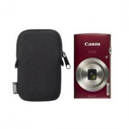 Canon IXUS 185 + orig.pouzdro červený