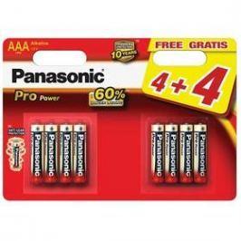 Panasonic Pro Power AAA, LR03, blistr 4+4ks (LR03PPG/8BW)
