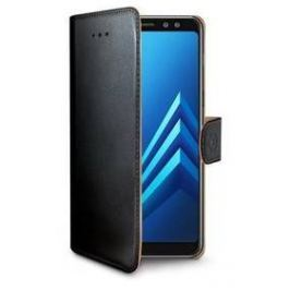 Celly Wally pro Samsung Galaxy A8+ (2018) (WALLY707) černé