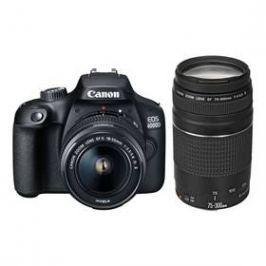 Canon EOS 4000D + 18-55 DC III + 75-300 DC (3011C010) černý