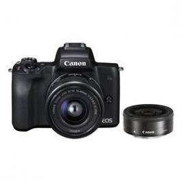 Canon EOS M50 15-45 IS STM + M 22 (2680C032) černý