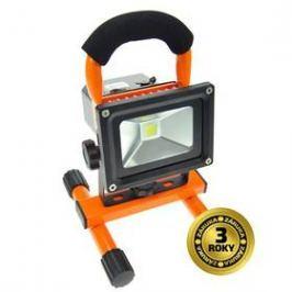 Solight 10W, studená bílá, nabíjecí, 700lm (WM-10W-DE) černý/oranžový