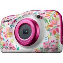 Nikon Coolpix W150 BACKPACK KIT bílý/růžový