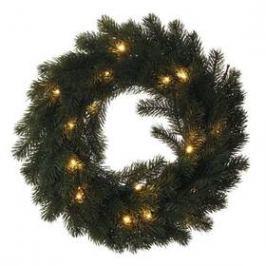 EMOS vánoční věnec, 40cm, 2× AA, vnitřní, teplá bílá (1534224400)