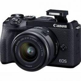 Canon EOS M6 MARK II + EF-M 15-45 IS STM + EVF hledáček (3611C012) černý