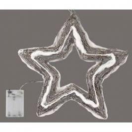 EMOS 20 LED, hvězda, denní bílá (1534142010)