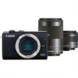 Canon EOS M200 + EF-M 15-45 IS STM + EF-M 55-200 IS STM (3699C018) černý