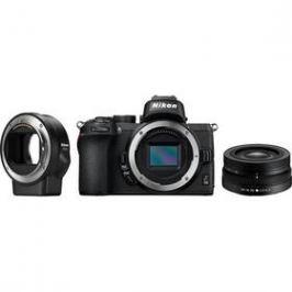 Nikon Z50 + 16-50 VR + adaptér bajonetu FTZ (VOA050K004) černý