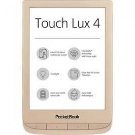 Pocket Book 627 Touch Lux 4 Limitovaná edice s obalem (PB627-G-GE-WW) zlatá